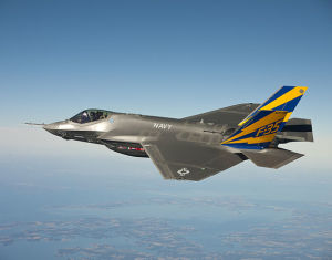Fighting spirit. The F-35 should have its advocates. Perhaps they can't be heard over all the noise.