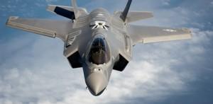 The Lockheed Martin F-35 fighter jet