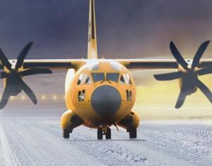 C-27J FWSAR on the runway
