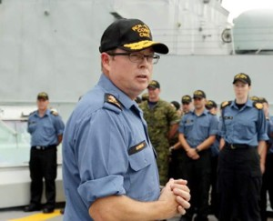 Vice Admiral Mark Norman