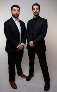 Nik Topolovec (left) and Brian Frank of Waterbridge Creative Media
