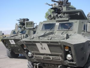 Tactical armoured patrol vehicle (TAPV) from Textron Systems Canada