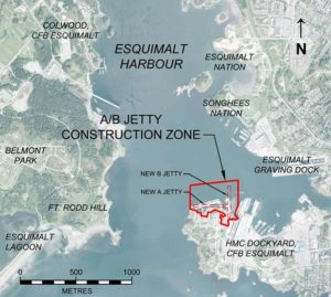 Jetty Plan for CFB Esquimalt