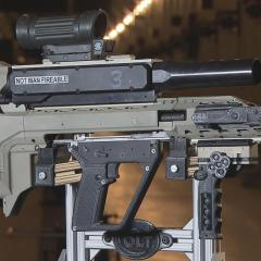 Smart gun: A test bed for the army's next-generation rifle