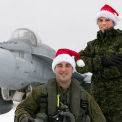 Meet Santa's Canadian escort pilots and trackers