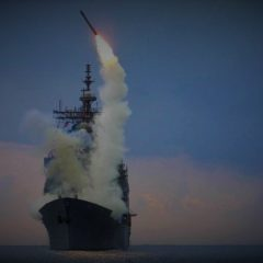U.S. fires missiles into Syria
