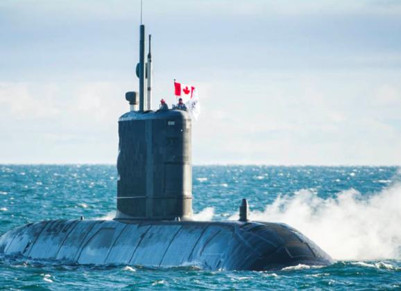 Oct/Nov 2017 issue: Canada's next submarine
