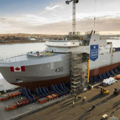 EP 076: First Arctic patrol ship being assembled and new fighter jets for Canada