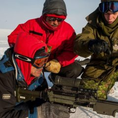 Canadian Army participates in NOREX 18 in the Arctic
