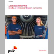 PwC Report: Lockheed Martin contributed $3.8B in GDP to Canada in the last decade