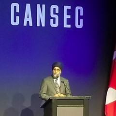 Minister Sajjan announces Defence Investment Plan 2018