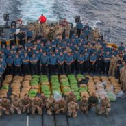 HMCS Regina seizes over 2,500 kg of hashish off the coast of Oman