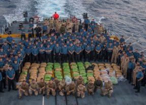 HMCS Regina seizes over 2,500 kg of hashish off the coast of Oman