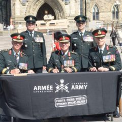 LGen Eyre assumes the role of Commander Canadian Army