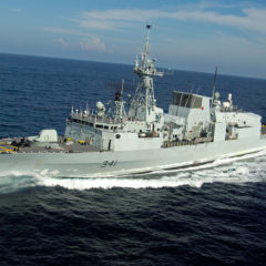 HMCS Ottawa off to the Asia-Pacific region