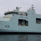 Canada's Second Arctic and Offshore Patrol Ship Launched