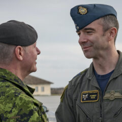 General Vance to the CAF: 'ready to deploy wherever and whenever our country needs us' for COVID-19