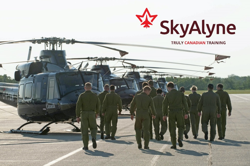 SkyAlyne: Truly Canadian experts for the Future Aircrew Training Program