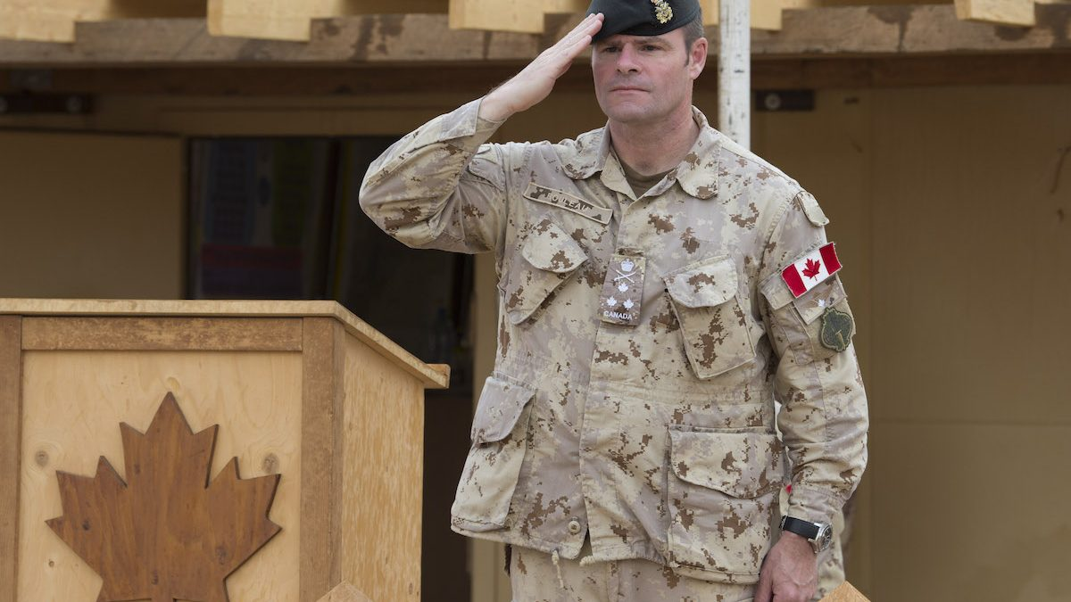 LGen Rouleau assumes post as VCDS of CAF