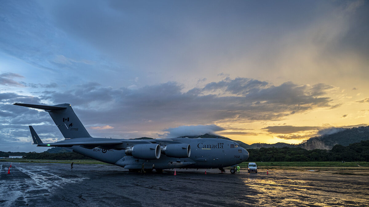CAF completes COVID-19 airlift support for the UN