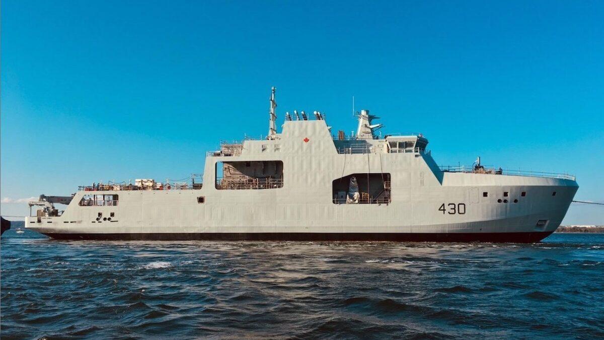 Canada names sixth AOPS after Lt Robert Hampton Gray