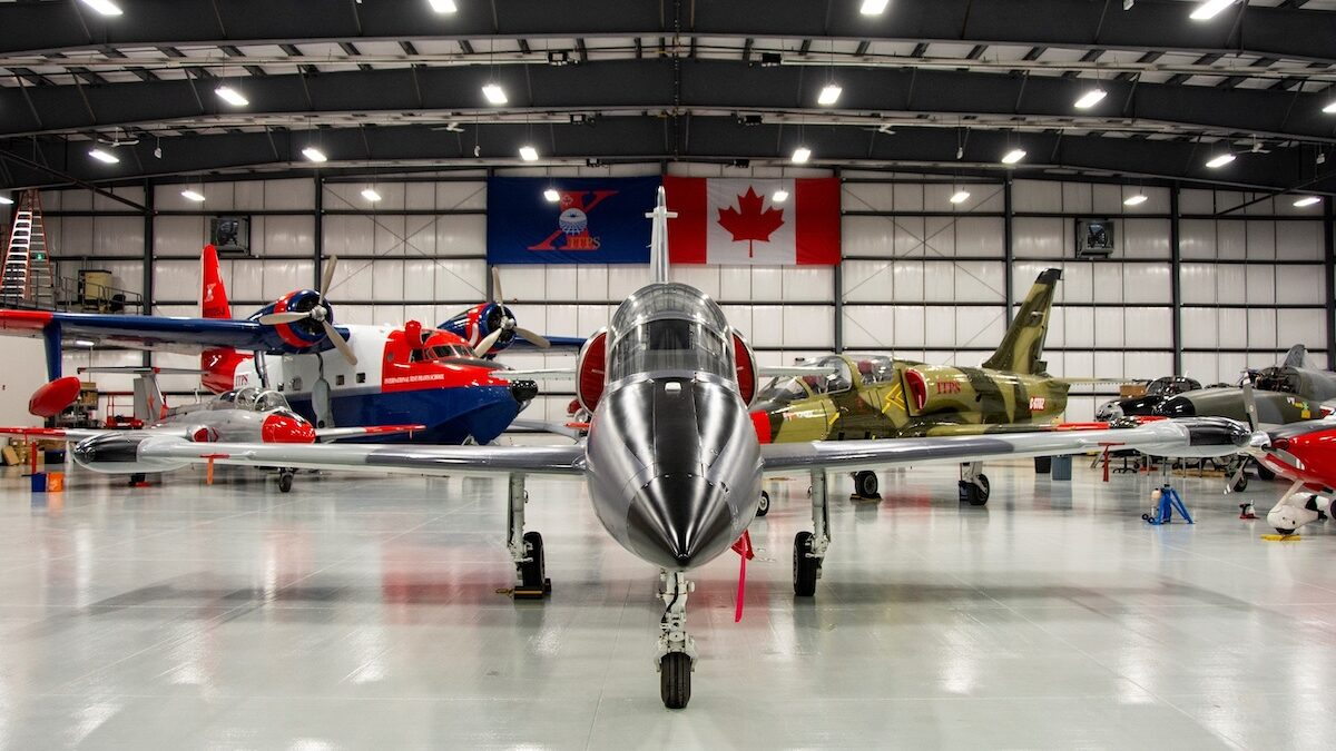 International Test Pilots School in London, ON to train RCAF pilots and engineers
