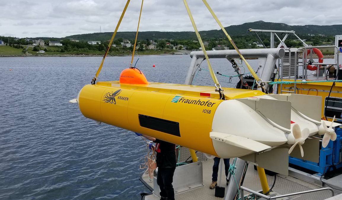 Kraken to receive $3 million from Canada to develop ThunderFish XL AUV