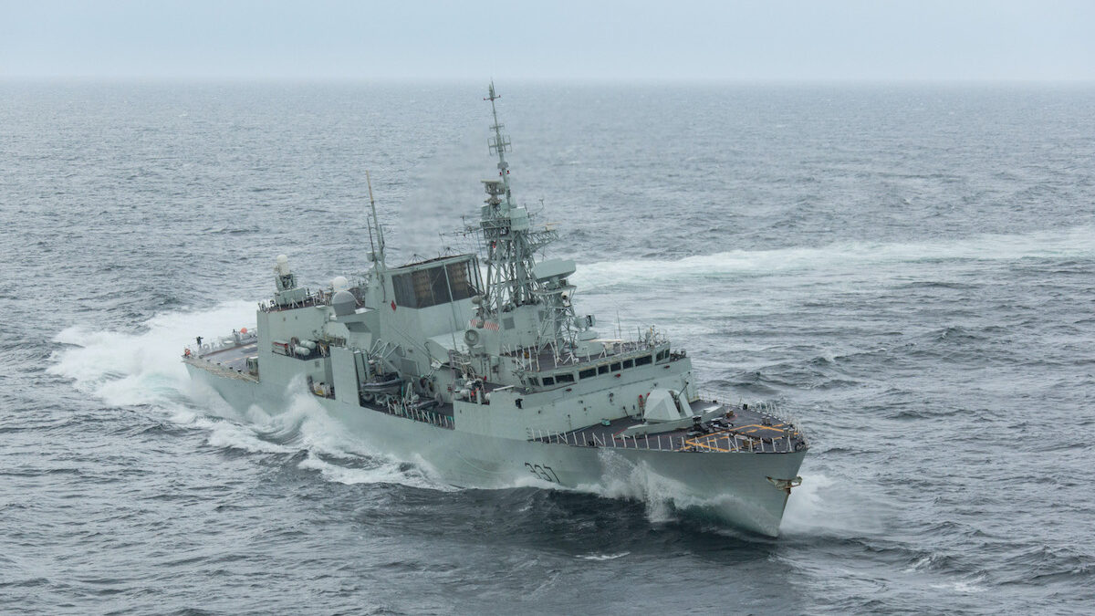 Canada awards Thales ISS contract for Halifax-class radar systems