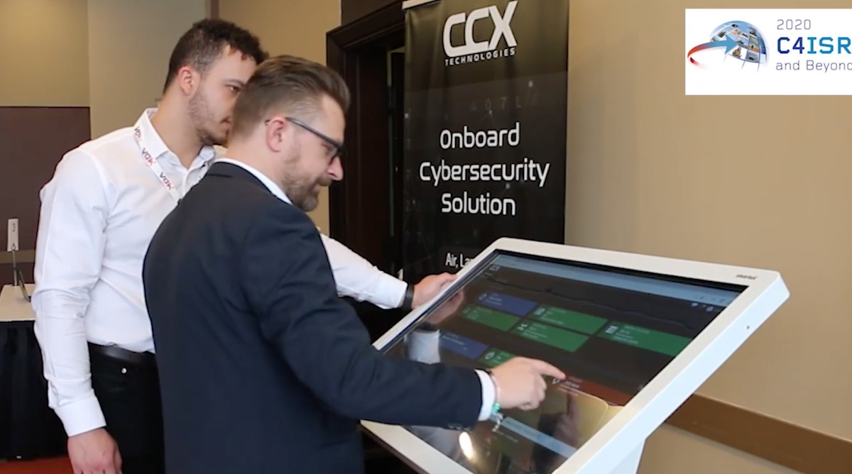 Video: Chris Bartlett of CCX Technologies shares unique cybersecurity solution