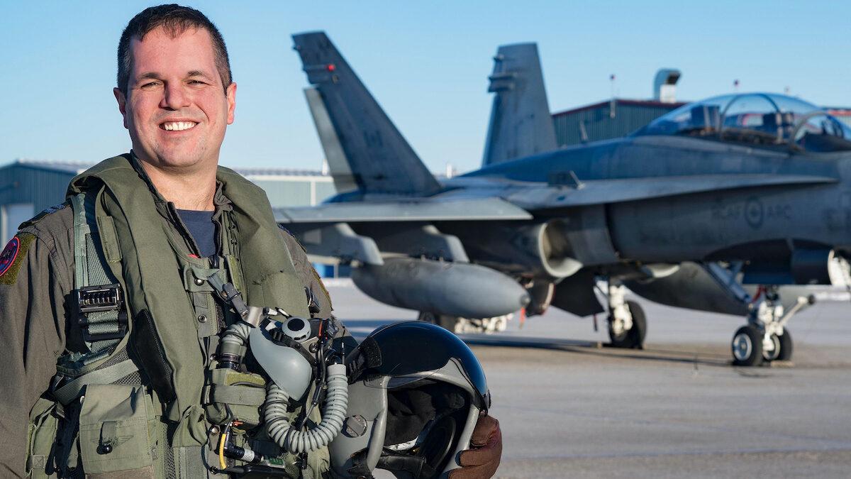 RCAF appoints Captain Dan Deluce as pilot for 2021 CF-18 Demonstration Team