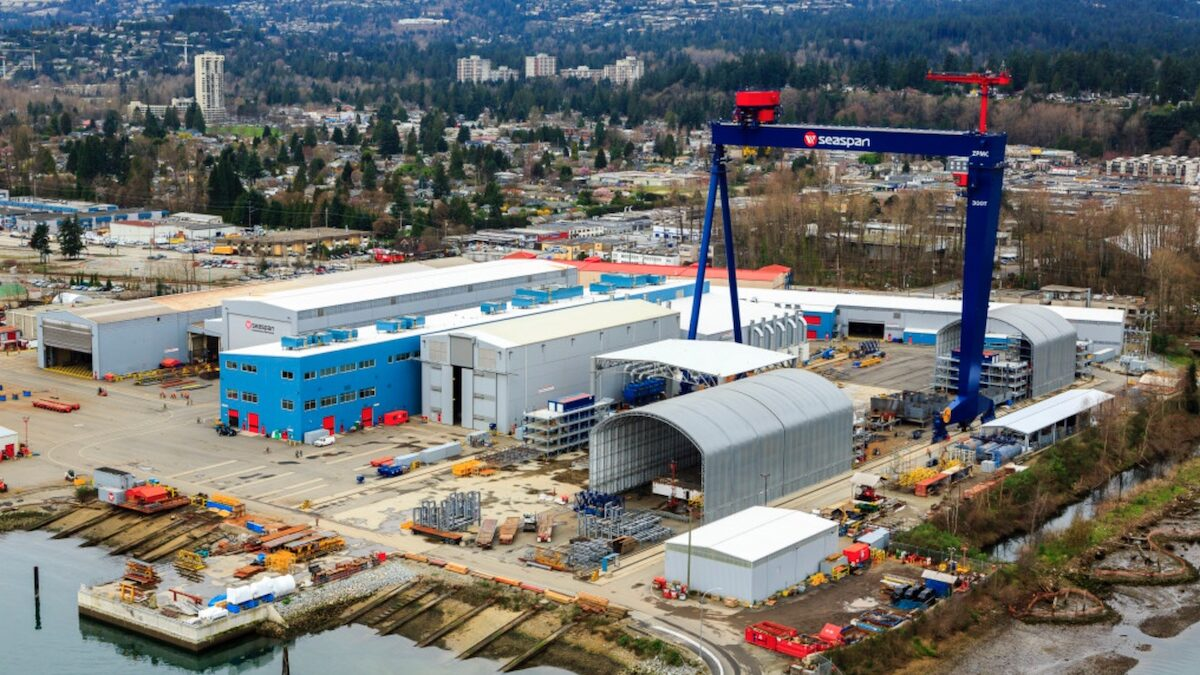 Seaspan Shipyards invests in new faculty chair position at UBC