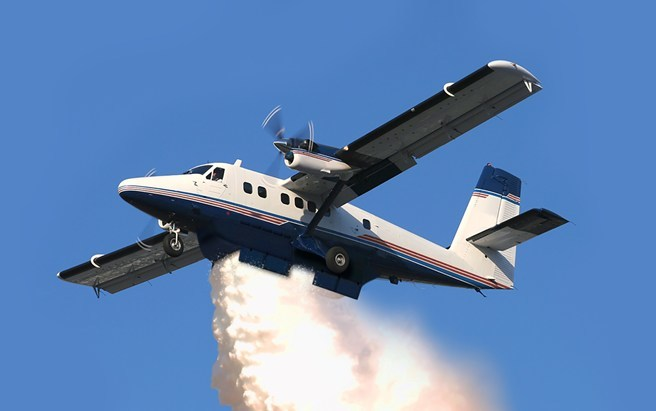 Viking and PAL Aerospace sign contract to support DHC-6 Twin Otter Aerial Firefighting System