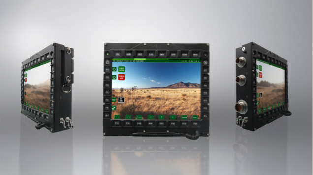 General Dynamics launches the most advanced tactical display to date – the SD9112